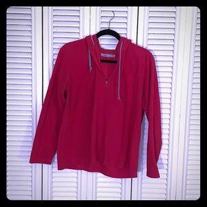 Gently used Pink Micro Fleece Uniqlo Hoodie